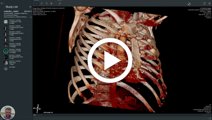 Is Dropbox secure for DICOM medical imaging storage?